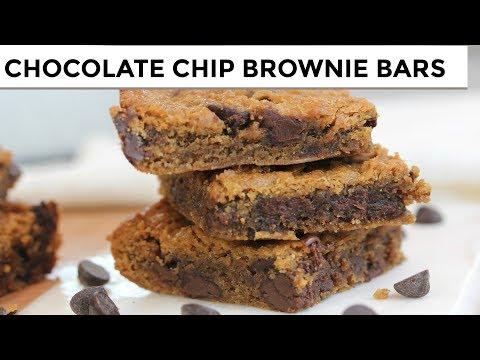 chocolate-chip-brownie-bars-|-vegan-+-paleo-+-grain-free
