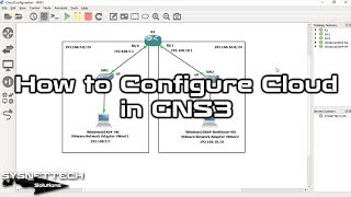 ✅ How to Configure Cloud in GNS3 |How to Connect VMware Virtual Machine to GNS3 |SYSNETTECHSolutions