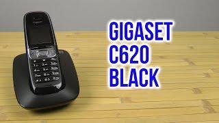 распаковка Gigaset C620 Black