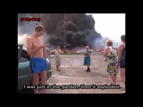 RAW: First moments after MH17 crash in Ukraine