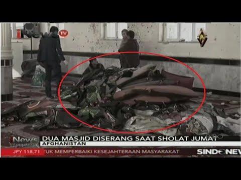 Serangan Bom Guncang 2 Masjid di Afghanistan, Puluhan Tewas