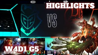 (Highlights) G2 Esports vs Misfits | Week 4 Day 1 S10 LEC Summer 2020 | G2 vs MSF W4D1
