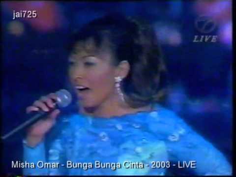 Misha Omar - Bunga Bunga Cinta - 2003 - LIVE