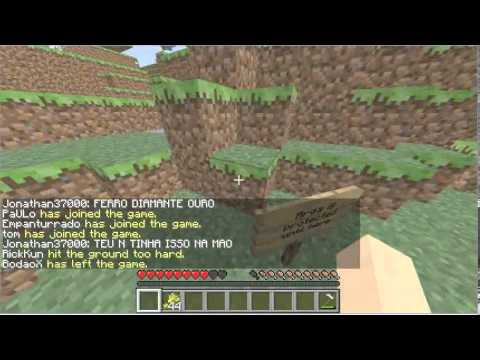 MineCraft-Passeio Pelo Server Do Venom Extreme Travel Video