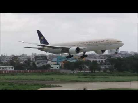 [HD] Plane Spotting @ Hazrat Shahjalal International Airport, Dhaka: Episode-55