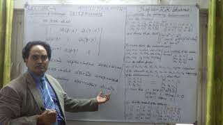 MULTIPLICATION OF TWO DETERMINANTS LECTURE   4   C  STEP BY STEP LEARNING PROFESSOR KKSHARMA NEW DEL