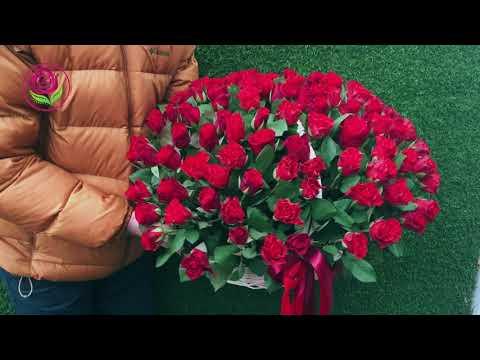 "Корзины из роз от салона ""ДариЦветы"""