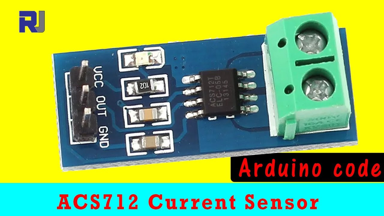 How to use Allegro ACS712 AC/DC Current Sensor with Arduino
