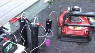 Moteur 4 temps fonctionnant a l'hydrogen (Moteur a eau) #62