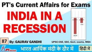 INDIA UNDER RECESSION - Curren…