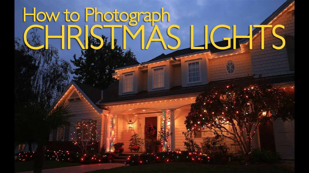 How to photograph christmas lights photography tutorial youtube mozeypictures Images