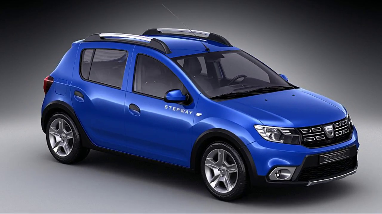 dacia sandero stepway 2017 3d model youtube. Black Bedroom Furniture Sets. Home Design Ideas