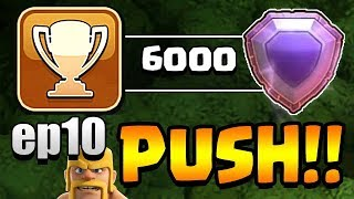 WE ARE LEGENDS!!  TH11 Trophy Push to Top 200 ep10 | Clash of Clans