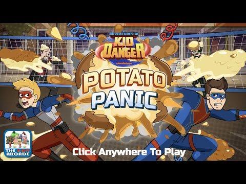 The Adventures of Kid Danger: Potato Panic - Boom goes the Potato (Cartoon Network Games)