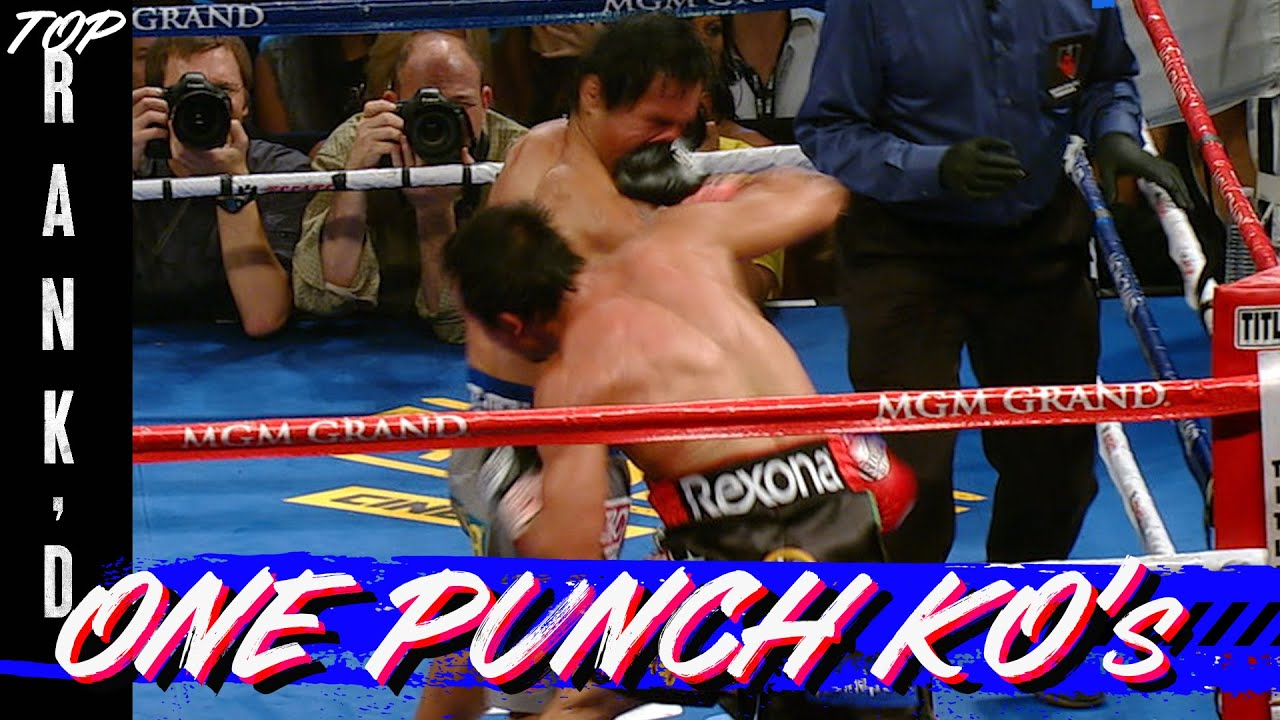 10 Bone Crushing One Punch Knockouts | TOP RANK'D | FIGHT HIGHLIGHTS