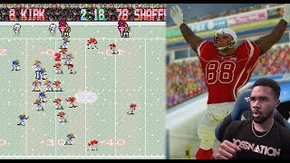 GAME COMES DOWN TO THE VERY LAST PLAY! - TECMO BOWL THROWBACK