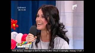 Interviu cu Mădălina Manole la Neatza cu Răzvan și Dani (05.03.2010)