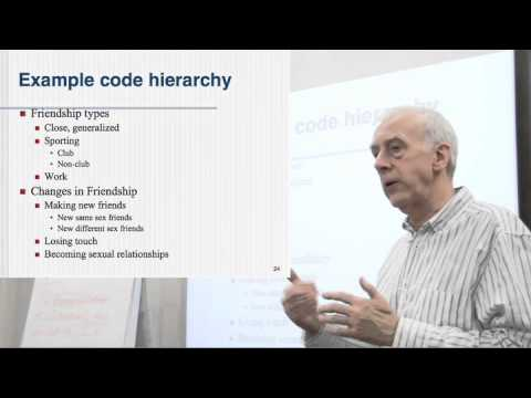 Coding Part 5: The Code List Or Code Hierarchy