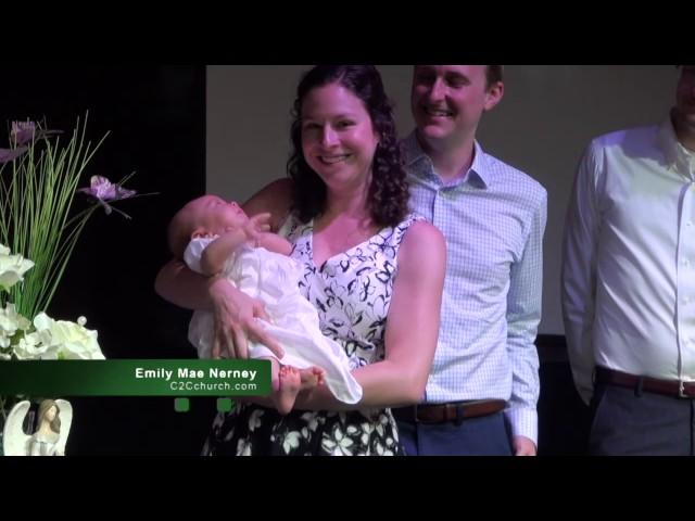 Emily Mae Nerney Baptism