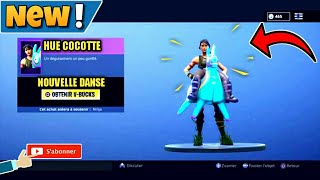 HOW TO THE NEW SKIN HUE COCOTTE ON FORTNITE?