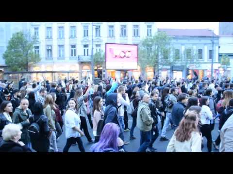 Protest in Belgrade 2017