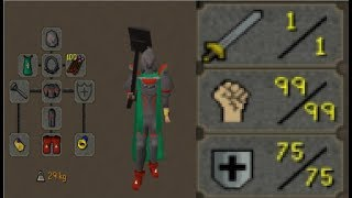 One of Runescape's Most Powerful PKing Builds