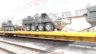 Raw Footage of Military Rail Transport Through Portland Oregon
