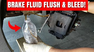 How To Do A Complete Brake Fluid Flush And Properly Bleed Your Brake System | G20 Brake Fluid Flush!