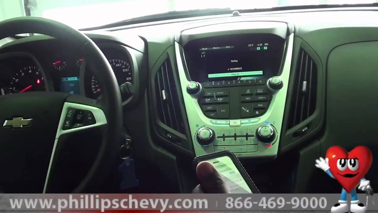 2013 Chevy Equinox How to Pair iPhone and Place Calls at Phillips