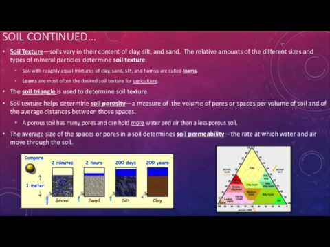 Chapter 10 - Geology - Processes , Hazards, and Soils