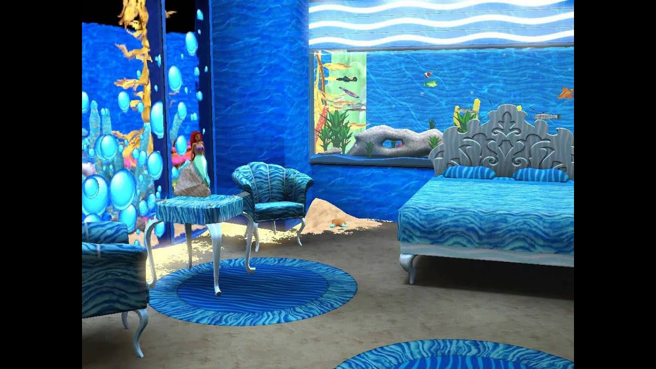 Sims  Island Paradise Underwater House