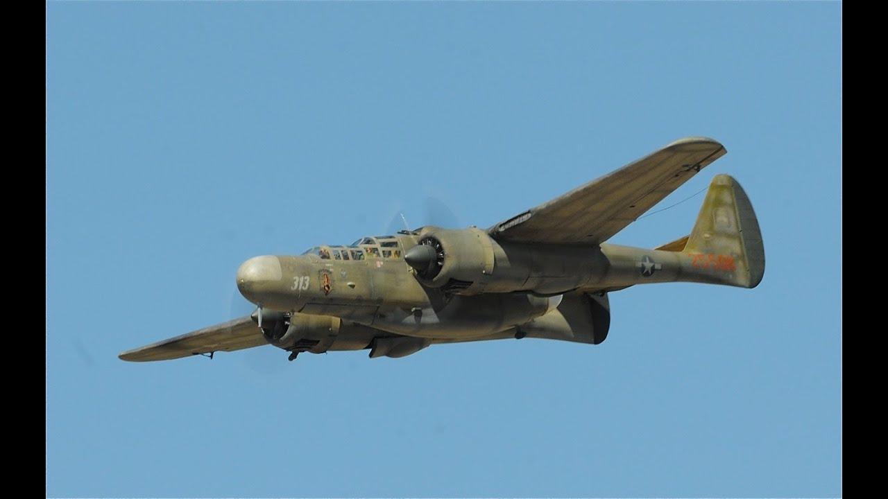 Copy of P61 Black Widow Super fast!! Northrop RC - YouTube