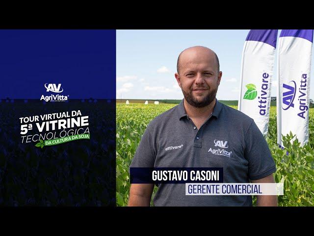 Gustavo Casoni, Gerente Comercial da AgriVitta®️