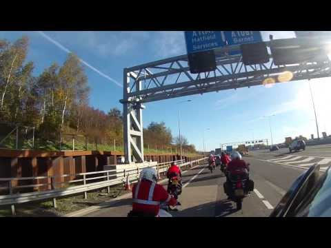 A Complete Lap of the M25 Motorway Around London