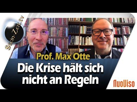 Die Krise hält sich nicht an Regeln - Max Otte im NuoViso Talk