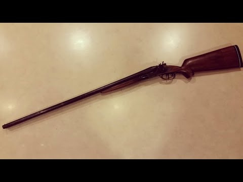 Restoring A Double Barrel Shotgun
