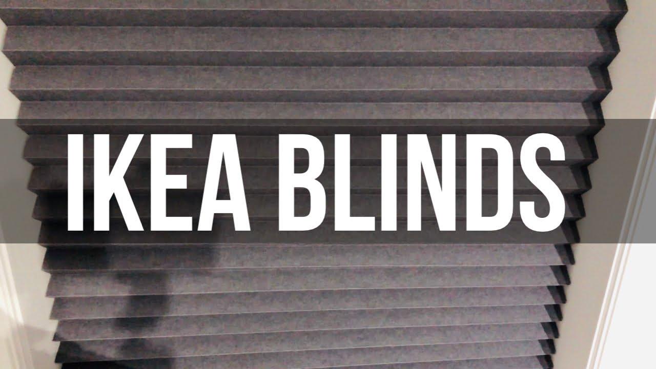 Ikea Blinds Schottis Blackout Pleated