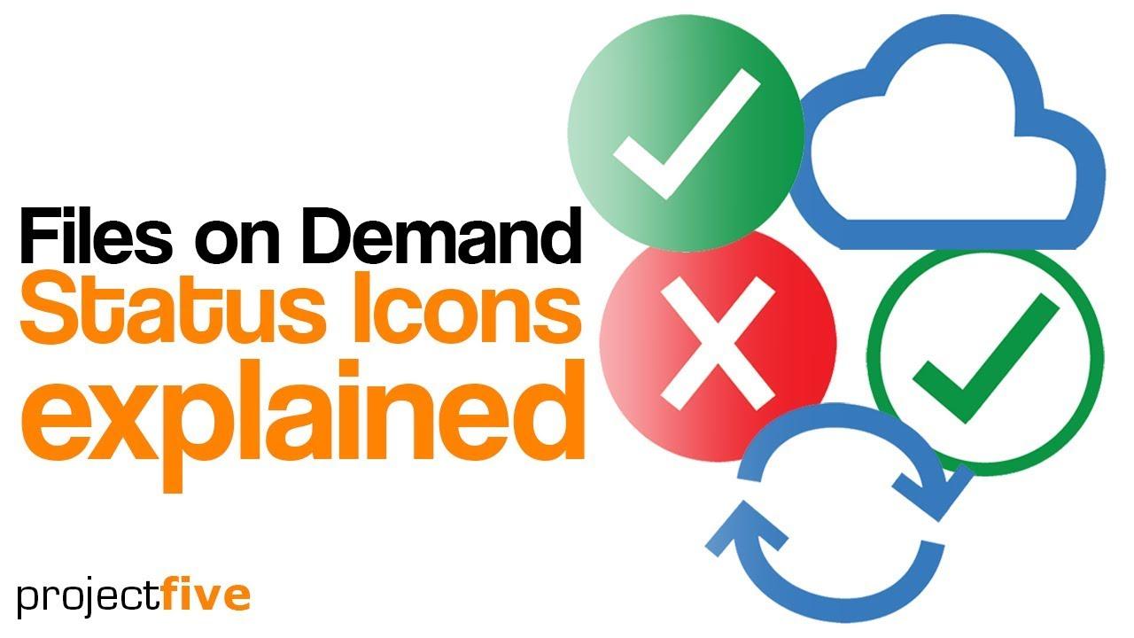 Icons explained