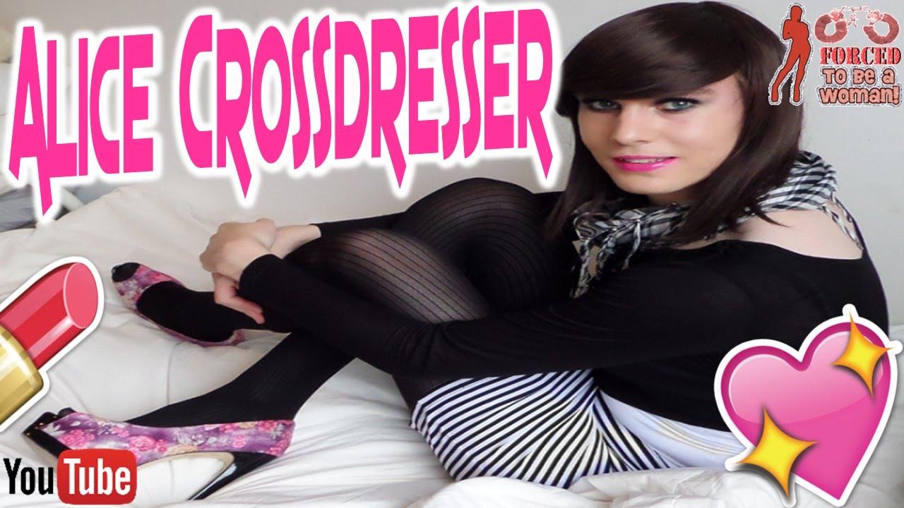 alice crossdresser - young transvestite - teen boy to girl - youtube