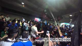 Afghanistan Cricket Fans Party at the World Cup