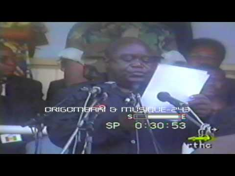 Discours la veriter sur la politique de Laurent Désiré Kabila 1997 au