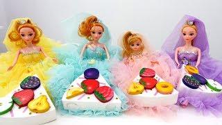 Видео для детей: Кукла МАША Капуки Кануки и Чаепитие с куклами. Дни недели - Понедельник