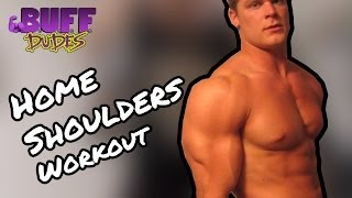 Home Shoulders Dumbbell Workout Routine