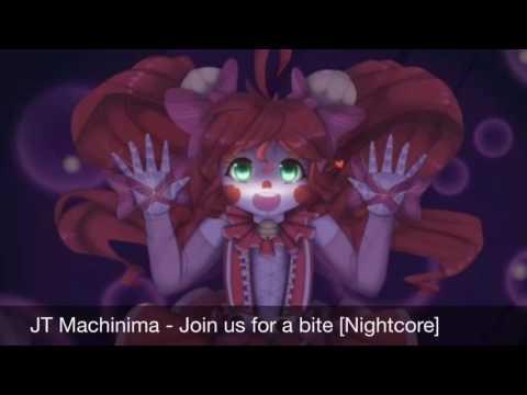 JT Machinima - Join us for a bite [Nightcore]