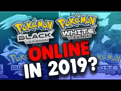Pokemon Black And White ONLINE In 2019!?!