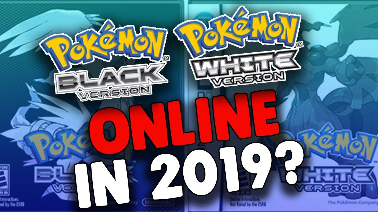 Pokemon Black And White Online In 2019 Youtube