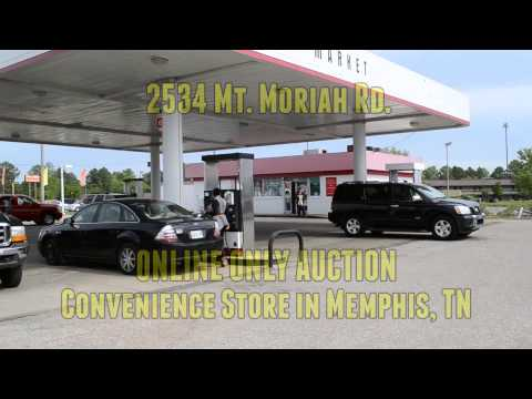 ONLINE ONLY FORECLOSURE AUCTION - Convenience Store in Memphis, TN - 2534 Mt. Moriah Rd.