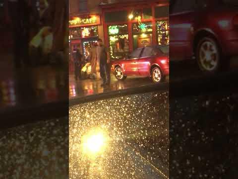 Woman hit by car 11/18/2017 Terre Haute IN