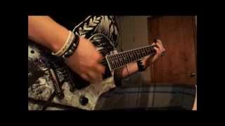 bullet for my valentine run for your life guitar cover