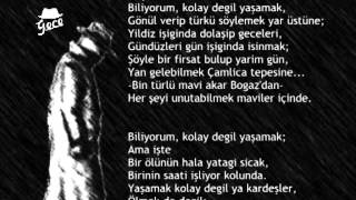 Orhan Veli - Yaşamak I  Seslendiren -